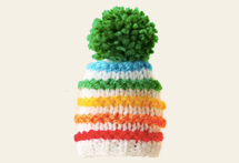 French big knit campaign